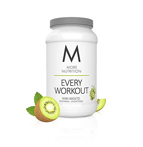 MORE NUTRITION Every Workout (1 x 700 g Pulver) - Fitness Booster mit Creatin für mehr Power und Pump beim Krafttraining (Kiwi-Mojito)