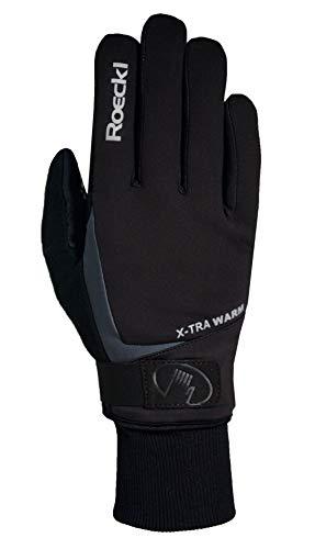 Roeckl Erwachsene Verbier Handschuhe, Schwarz, 11