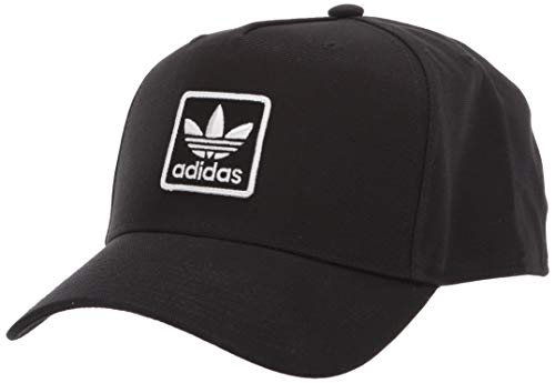adidas Originals Men's Dart Trefoil Patch Snapback Cap