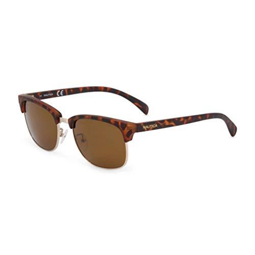 Nautica N3610Sp 717 53 Gafas de sol, Shiny Gold, Hombre