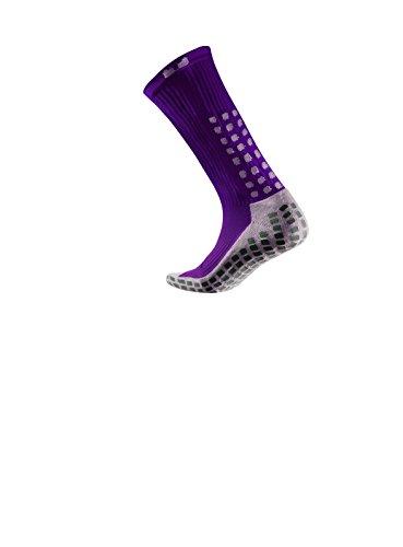 Trusox Mittler de Veau-sockeen Talon Taille S Violet