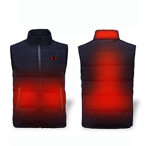 LXPDJ elektrisch verwarmd vest, 5 V USB Warmer Gilet, warm verwarming pak met drie standen temperatuurregeling, voor kantoor en bedrijf Probeer tijdens de winter.