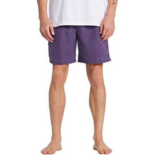 Billabong - Pantalones cortos para hombre de 45,8 cm con costura para todo el día - Morado - Large