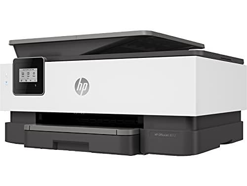 HP OfficeJet Pro 8012 - Impresora multifunción tinta, color, Wi-Fi, copia, escanéa, gris, compatible con Instant Ink (1KR71B)