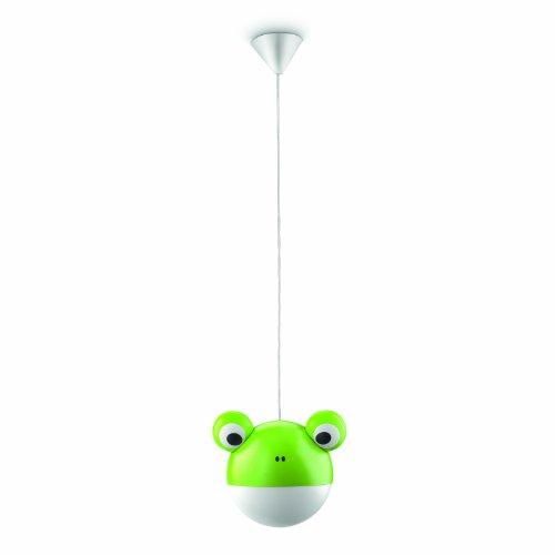Philips 410223316 Anora Suspension Lampe de Salon Métal Vert 1 x 25 W