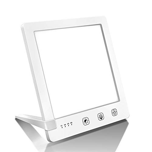 Tageslichtlampe 10000 Lux Lichttherapielampe Lichtdusche Lichttherapie Simuliertes Tageslicht Antidepressivum 3 Beleuchtungsmodi