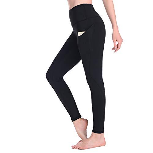 Occffy Leggings Mujer Deporte Cintura Alta Mallas Pantalones Deportivos Leggins con Bolsillos para Yoga Running Fitness y Ejercicio Oc01