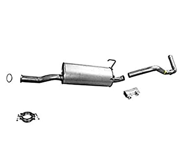 Rear Exhaust Muffler fits for Toyota Tundra 00-06 With Clamp Gasket