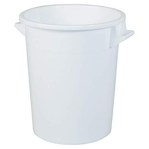 BRB 75 Liter Kunststofftonne, lebensmittelecht, weiß