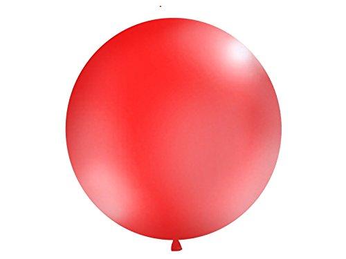 Onbekend enorme luchtballon, XXL/bruiloftsballon, rood, diameter ca. 100cm - Bruiloftsdecoratie, verjaardagsdecoratie, luchtballonnen groot/helium ballonnen