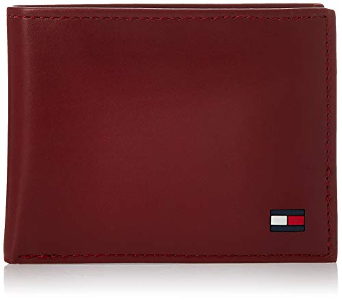 Tommy Hilfiger - cartera doble, color rojo, talla Talla única