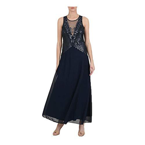 MOLLY BRACKEN W691P20 Midnight Blue - Vestido de mujer azul