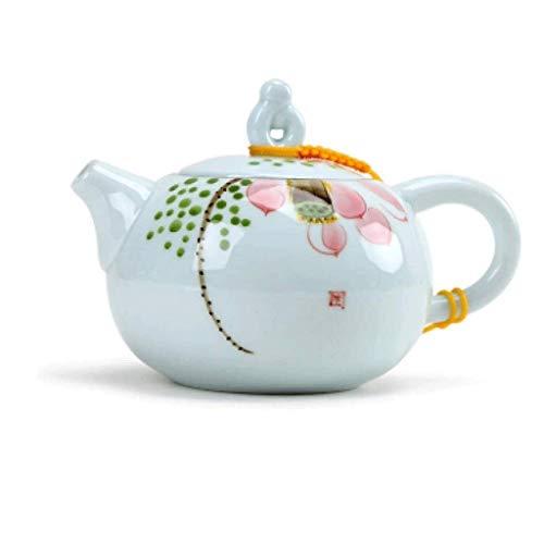 YWSZJ Creativo diseño Elegante Porcelana Azul y Blanca de la Tetera Tetera Pintada a Mano de Kung Fu Juego de té