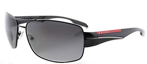 Prada SPORT Herren 0Ps53Ns 7Ax5W1 65 Sonnenbrille, Schwarz (Black/Polar Grey Gradient)