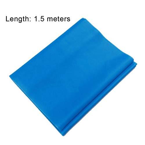 AM Multifunktionaler Oberschenkel-Trainingsgerät, für Fitness, Muskeln, Po, Toner, Die Dünnen Beine/Dünne Brustvergrößerung Bein - Schöne, Fitnessgeräte Hüfte (Spannungsband 1.5m Blue)
