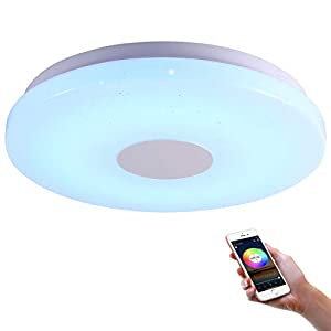 """LEDシーリングライト Alexa対応 ~6畳 28W 調光・調色タイプ シーリングライト 音色操作スマートライト 明る..."""""""