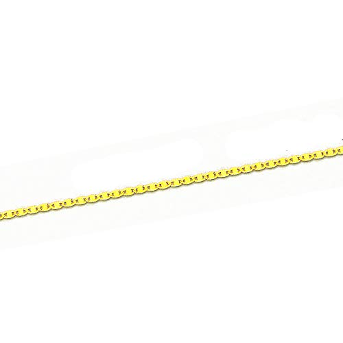 MAG - ketting van 18-karaats goud, 40 cm lang, 2 mm breed