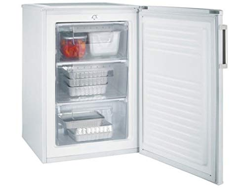 Candy CCTUS 482WH - Congelador Vertical A+ de libre instalación, 64 litros, 43 dB, blanco