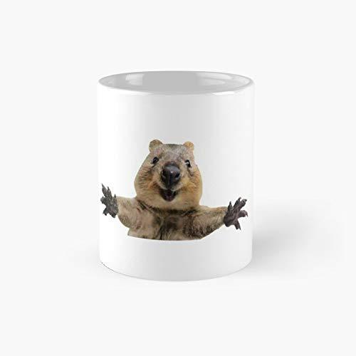 Lustige Kaffeetasse mit Aufschrift