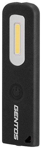 GENTOS(ジェントス) 作業灯 LED ワークライト スリムバータイプ USB充電式 【明るさ100ルーメン/実用点灯2....