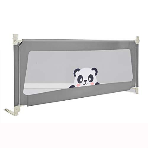 Szyna ochronna do łóżka pionowa poręcz do łóżka przenośna poręcz do łóżka dziecięcego poręcz ochronna łóżeczka barierka regulowana nietłukąca się szyna ochronna (rozmiar: 200 cm)