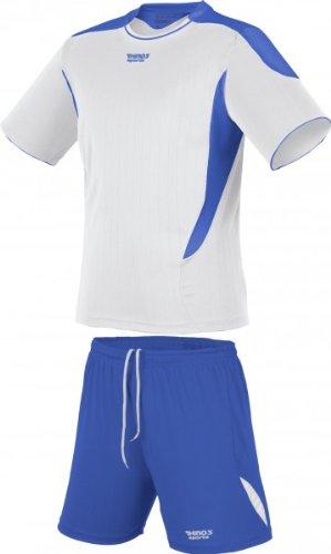 RHINOS sports Trikot-Set Olympic weiß/blau 152
