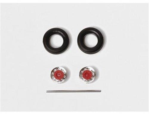 Herpa 052016-Modèle Miniature-Semi Pneu de remorque, 052016