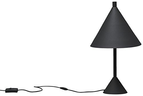 Twist Design Guatemala lámpara de mesa G9, 6W, Negro, 25x 25x 45cm