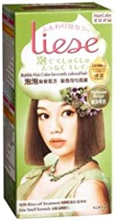 LIESE Liese Bubble Hair Color Platinum Beige 1's -Massage Foam into Hair,and it transforms into Thick, Creamy Foam