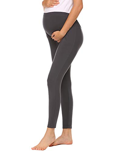 ADOME Damen Langen Umstandshose warme Mutterschaft Hosen verstellbare elastische Gamaschen Schwangere Frauen Leggings