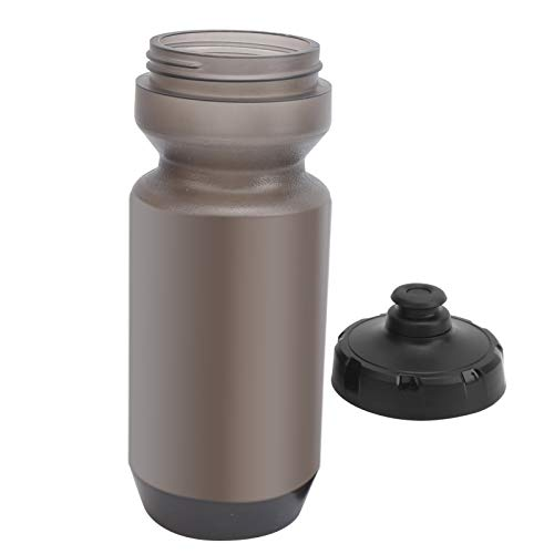 Lantro JS Bike Water Bottle, Easy To Open and Close Bicycle Water Bottle for Outdoor for Travel(Transparent gray)