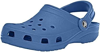 crocs Women's Classic Mule Blue Jean - 7 US Men/ 9 US Women M US