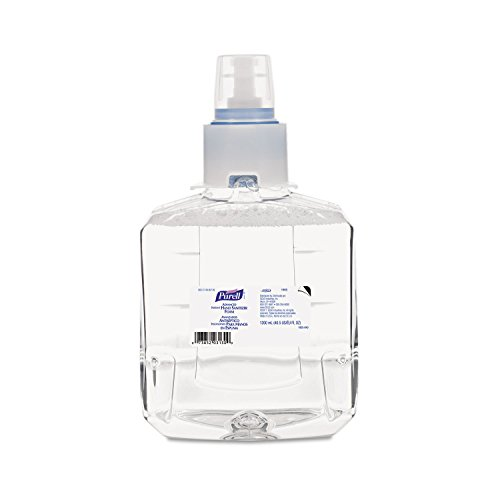 PURELL 190502CT Advanced Instant Hand Sanitizer Foam, LTX-12 1200mL Refill, Clear, 2/Carton