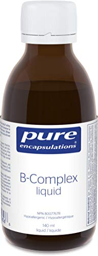 Pure Encapsulations - B-Complex Liquid - B Vitamins to Support Energy Metabolism and a Healthy Nervous System - 4.73 fl. oz.
