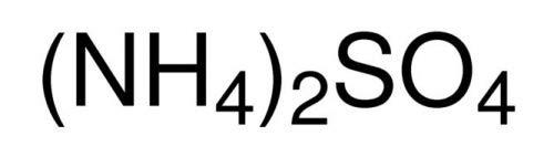 S3 Chemicals Ammoniumsulfat (min. 99%, Lebensmittelqualität) Gebindegröße 1kg