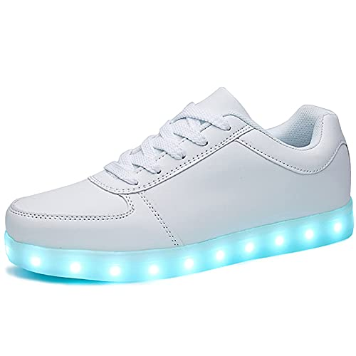 SANYES USB Charging Light Up Shoes Sports LED...
