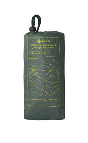 Wäfo Nanga Parbat 1-Mann-biwaksack, olivgrün, One Size