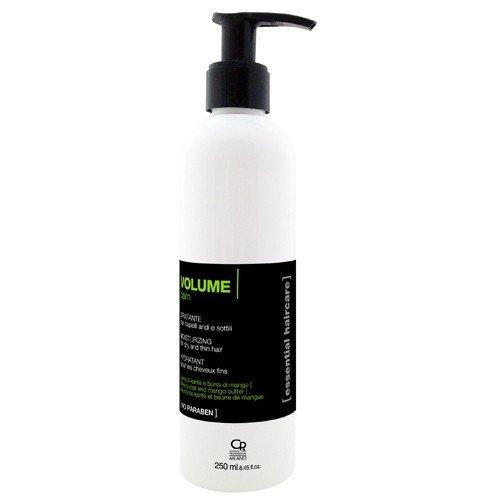 Essential Haircare - Shampoing Baume Volume - Traitement Volumisant Professionnel à l'Huile d'Argan et au Beurre de Karité pour Cheveux Stressés, Fins - Usage Fréquent -250 ml