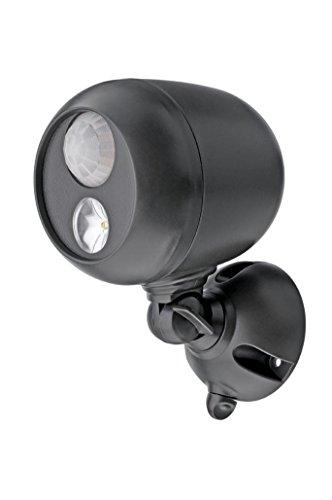 MR BEAMS(ミスタービームス) SPOT LIGHT(スポットライト) LED 人感センサー ライト 【ガレージや玄関に最適 1灯式/乾電池式】 MB360
