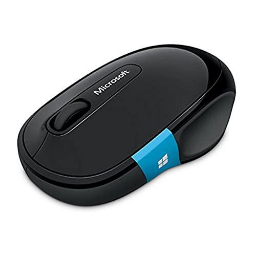 Microsoft Sculpt Comfort Mouse (muis, zwart, ergonomisch, draadloos via Bluetooth)