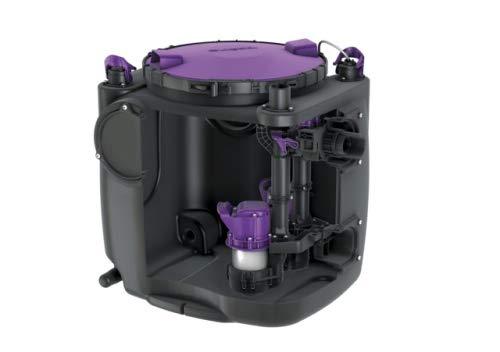 KESSEL Hebeanlage Aqualift S 100 Duo, GTF 600, freie Aufstellung 28515