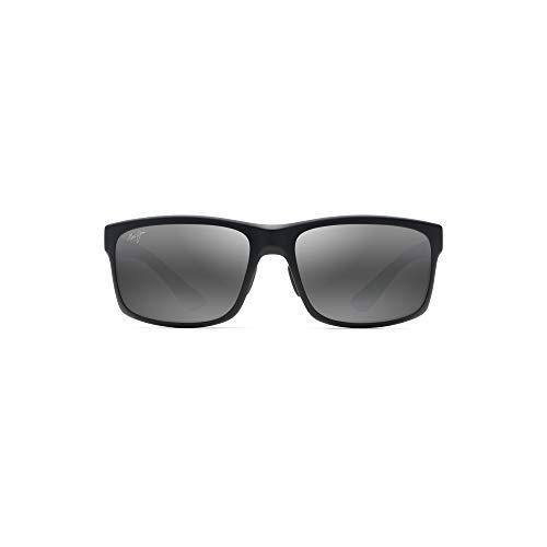 Maui Jim MJ439 POKOWAI ARCH BLACK MATTE (439-2M) - Gafas de sol