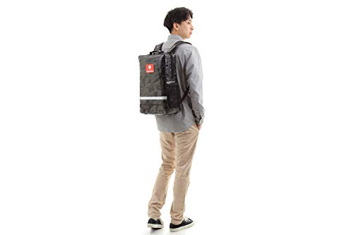 非常持出袋plus+非常持出袋(単品)の上位モデル玄関やリビングにも違和感なく置けるスタイリッシュな防災リュック(迷彩ブラック)