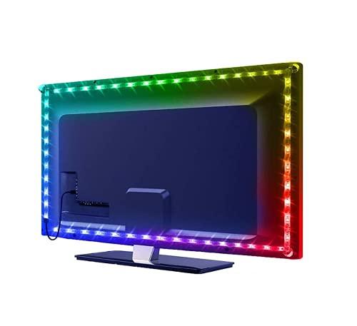 Tira de luces LED para TV USB 5050 RGB con mando a distancia y control (clase energética A] (TV de 22' a 30')