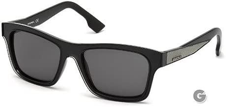 Diesel DL0071 Sunglasses DL 0071 Color 01A Smoke