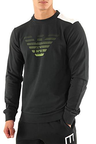 Emporio Armani EA7 heren sweatshirt zwart