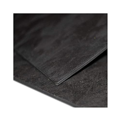 Keyhelm - EcoShield Pannello Insonorizzante Nero in Gomma Piombo, 5 mm, Alta Densità   Pannello per Isolamento Acustico, Adatto alla Coibentazione, 600x1000 mm   Made in Italy