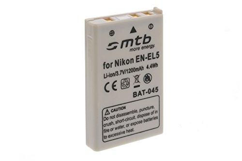 Batería EN-EL5 para Nikon Coolpix P80, P90, P100, P500, P510, P5000