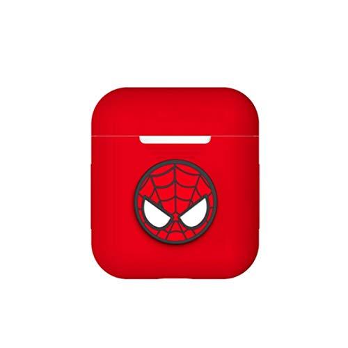 Yuxiong audífonos, Caja de Almacenamiento de audífonos de araña, diseño cómodo de Silicona