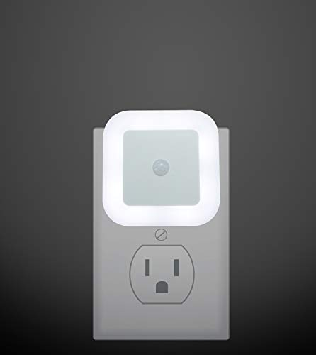 Motion Activated LED Night Lights, Plug in LED Motion Sensor Light, Suitable for Stairway, Bathroom and Hallway